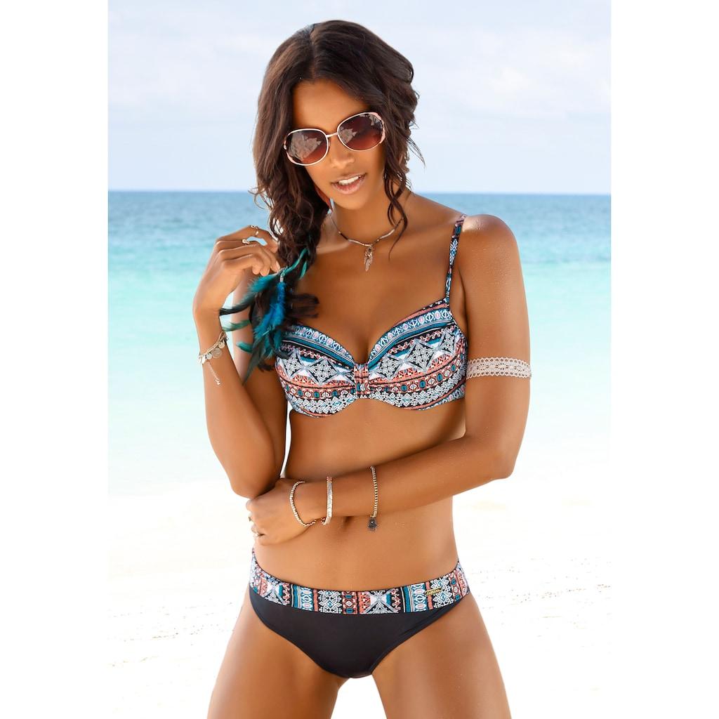 LASCANA Bügel-Bikini-Top »Marrakesh«, mit angesagtem Print