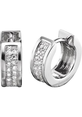 Engelsrufer Paar Creolen »Bright like a diamond, CREOLE LENA CRYSTAL, ERE - LENA - ZI - CR« kaufen