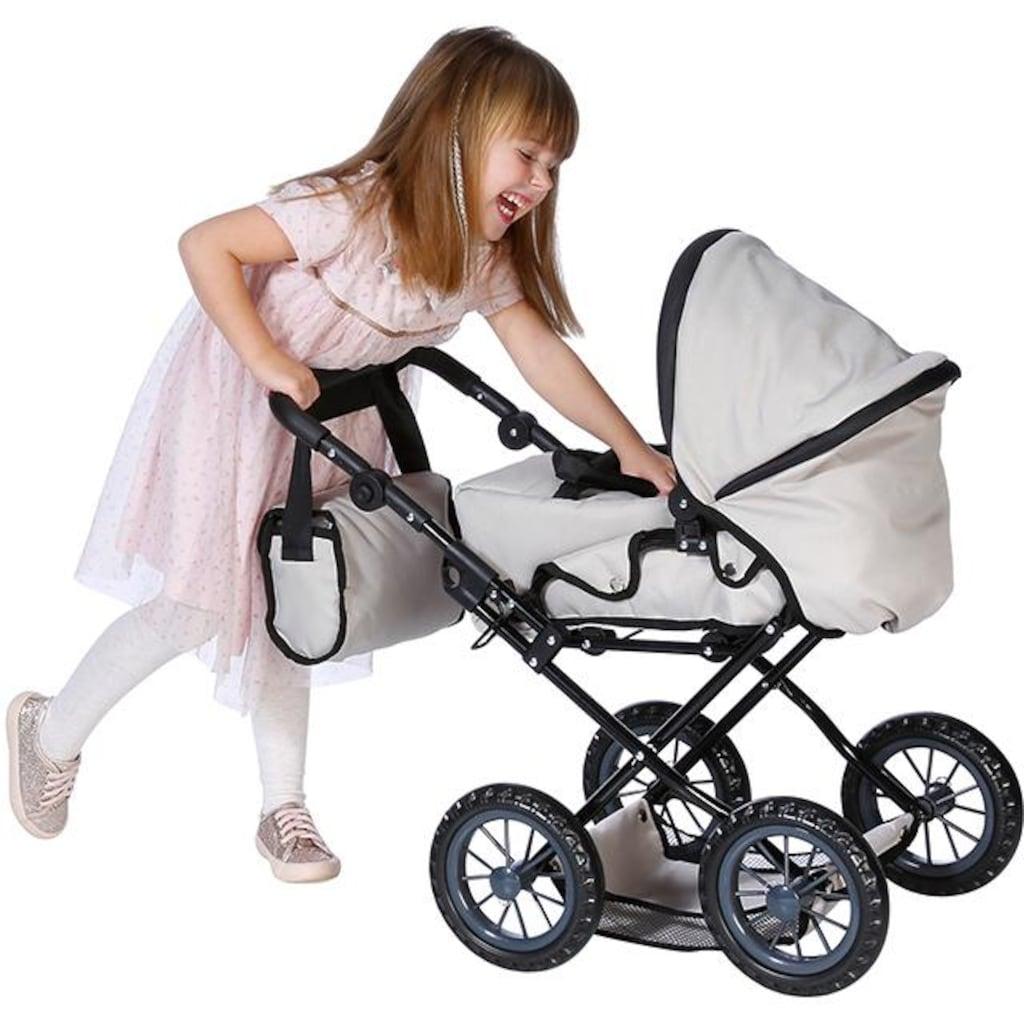Knorrtoys® Kombi-Puppenwagen »Ruby - Jeans Beige«