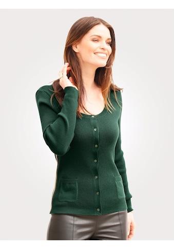 Mona Cardigan mit glänzenden Ripsbändern kaufen