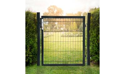 HOME DELUXE Gartentor, BxH: 100x120 cm, für Doppelstabmatten kaufen