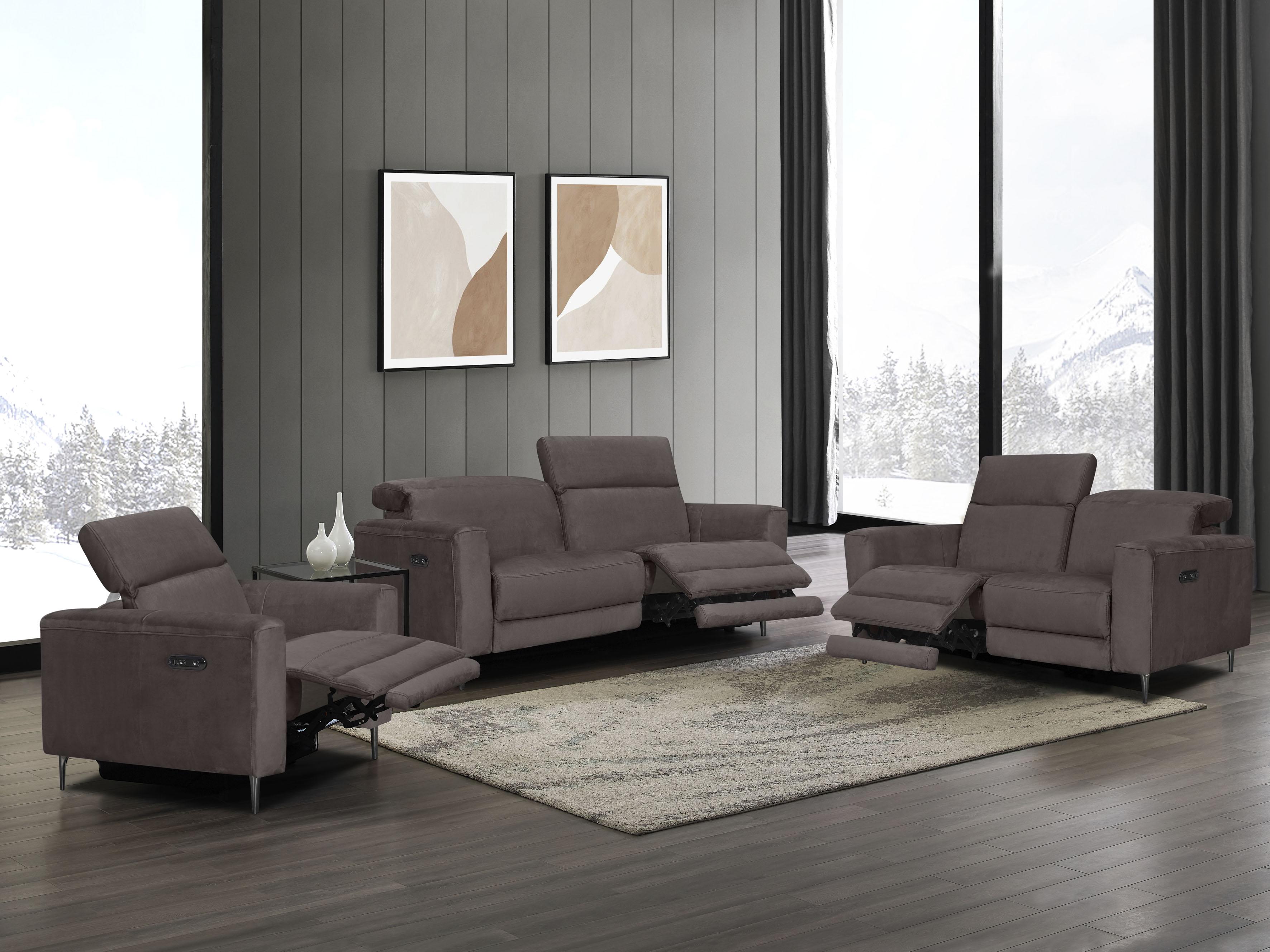 Places of Style Polstergarnitur Indiana (Set Set bestehend aus einem Sessel einem 2-Sitzer und einem 3-Sitzer)
