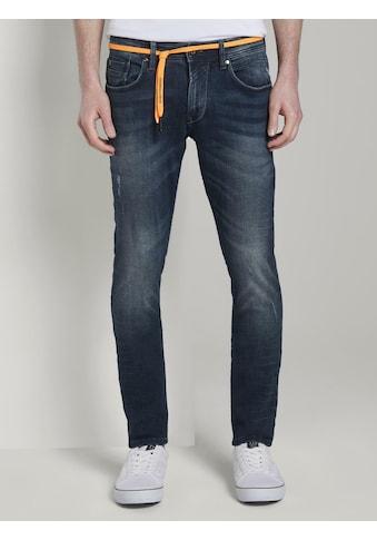 TOM TAILOR Denim Skinny-fit-Jeans »Culver Super Skinny Performance Stretch Effect« kaufen