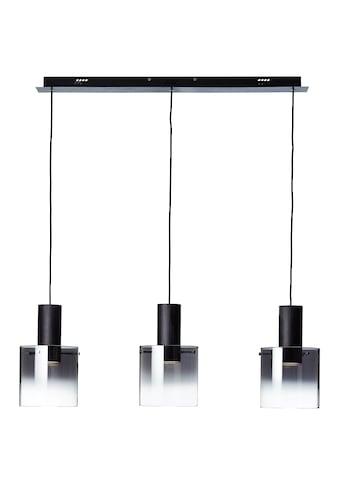Brilliant Leuchten Beth LED Pendelleuchte 3flg schwarz/rauchglas kaufen