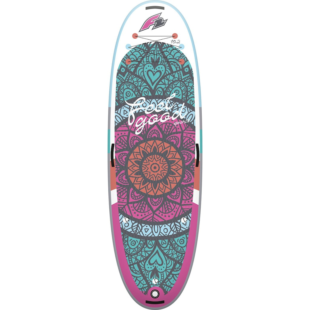 F2 Inflatable SUP-Board »Feelgood Sports Woman«
