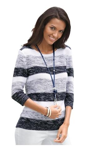 Casual Looks Pullover mit 3/4 - Ärmeln kaufen