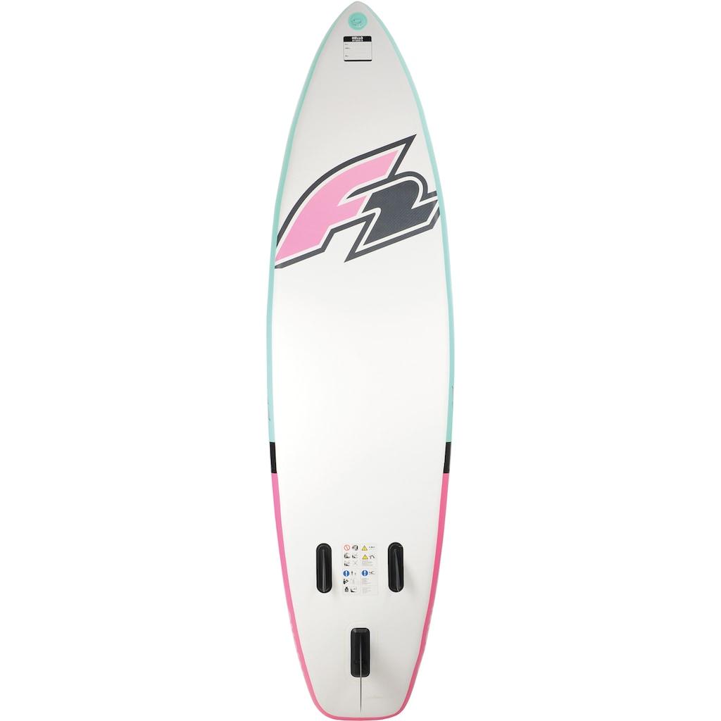 F2 Inflatable SUP-Board »F2 Mono Women«, (Set, 5 tlg.)