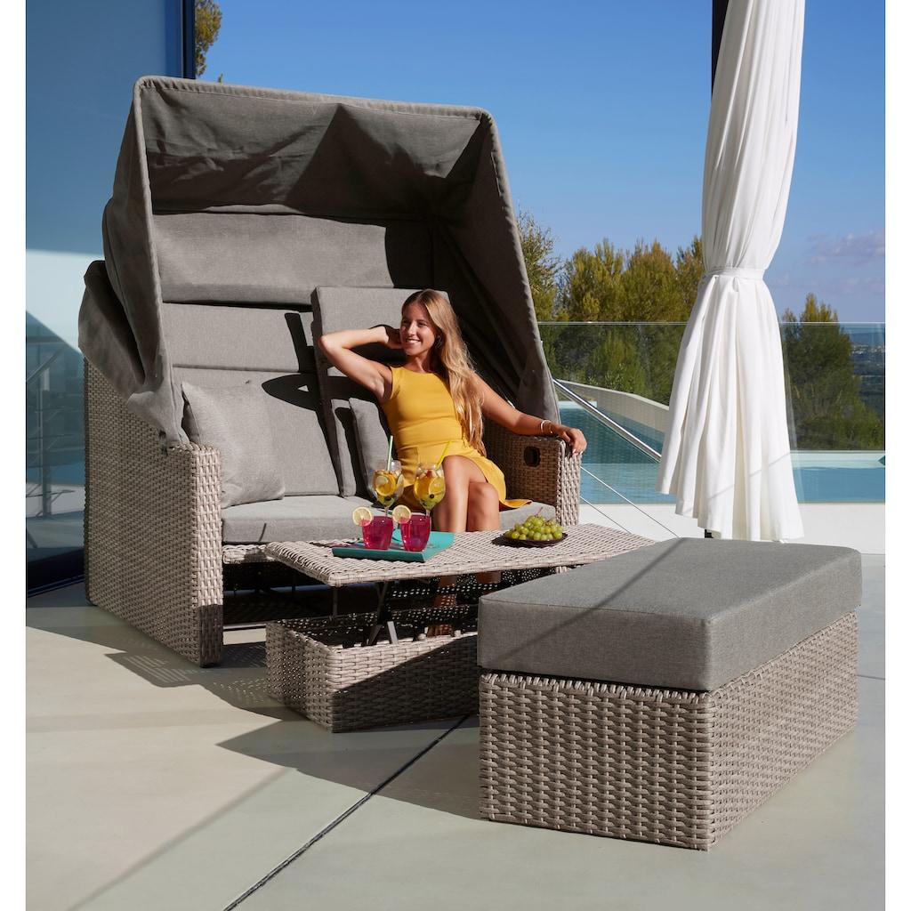 MERXX Loungesofa »Rimini«, braun