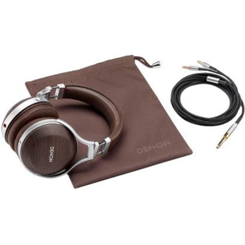 Denon Over-Ear-Kopfhörer »AH-D5200«, Rauschunterdrückung-Hi-Res