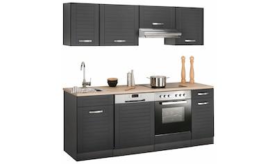 HELD MÖBEL Küchenzeile »Falun«, ohne E-Geräte, Breite 210 cm kaufen
