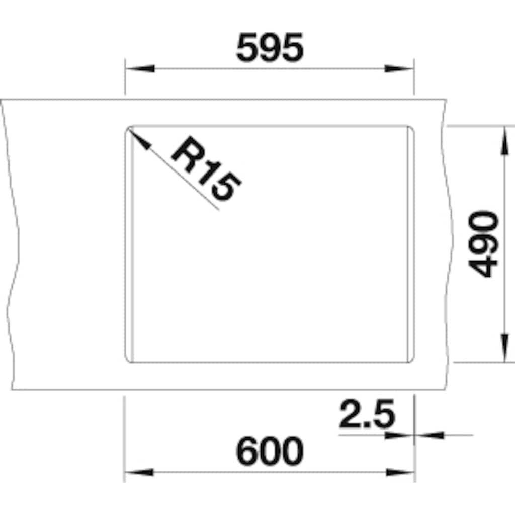 Blanco Granitspüle »PLEON 6 Split«, aus SILGRANIT®