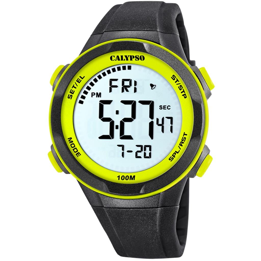 CALYPSO WATCHES Chronograph »Digital For Man, K5780/1«