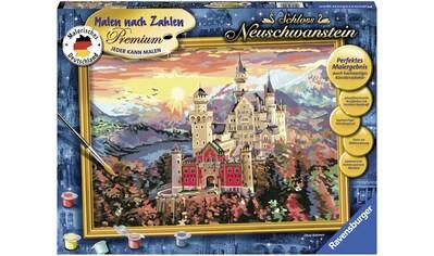 Ravensburger Malen nach Zahlen »Schloss Neuschwanstein«, Made in Europe, FSC® - schützt Wald - weltweit kaufen