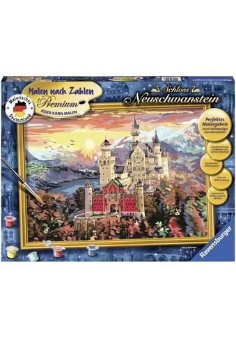 Ravensburger Malen nach Zahlen »Schloss Neuschwanstein«, Made in Europe, FSC® -... kaufen