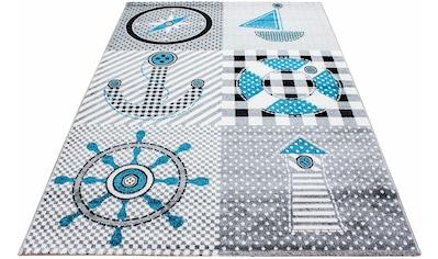 Kinderteppich, »Kids 510«, Ayyildiz, rechteckig, Höhe 12 mm, maschinell gewebt kaufen