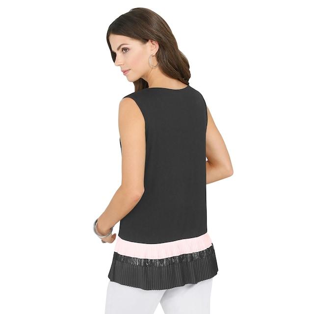 Lady Shirttop in leichter A-Linie