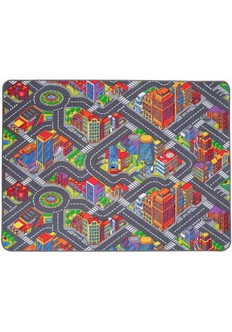 Primaflor-Ideen in Textil Kinderteppich »BIG CITY«, rechteckig, 5 mm Höhe,... kaufen