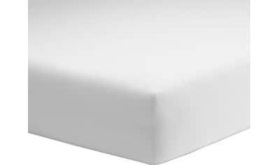 Schlafgut Spannbettlaken »Organic-Cotton-Jersey«, aus rein biologischem Anbau kaufen