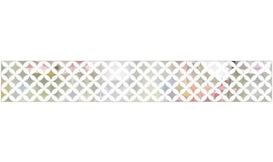 MySpotti Fensterfolie »Look Chadi white«, halbtransparent, glattstatisch haftend, 200... kaufen