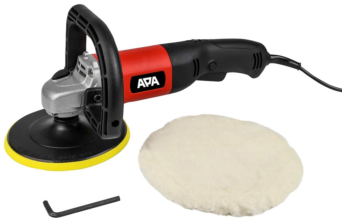 APA Poliermaschine silberfarben Autopflege Autozubehör Reifen
