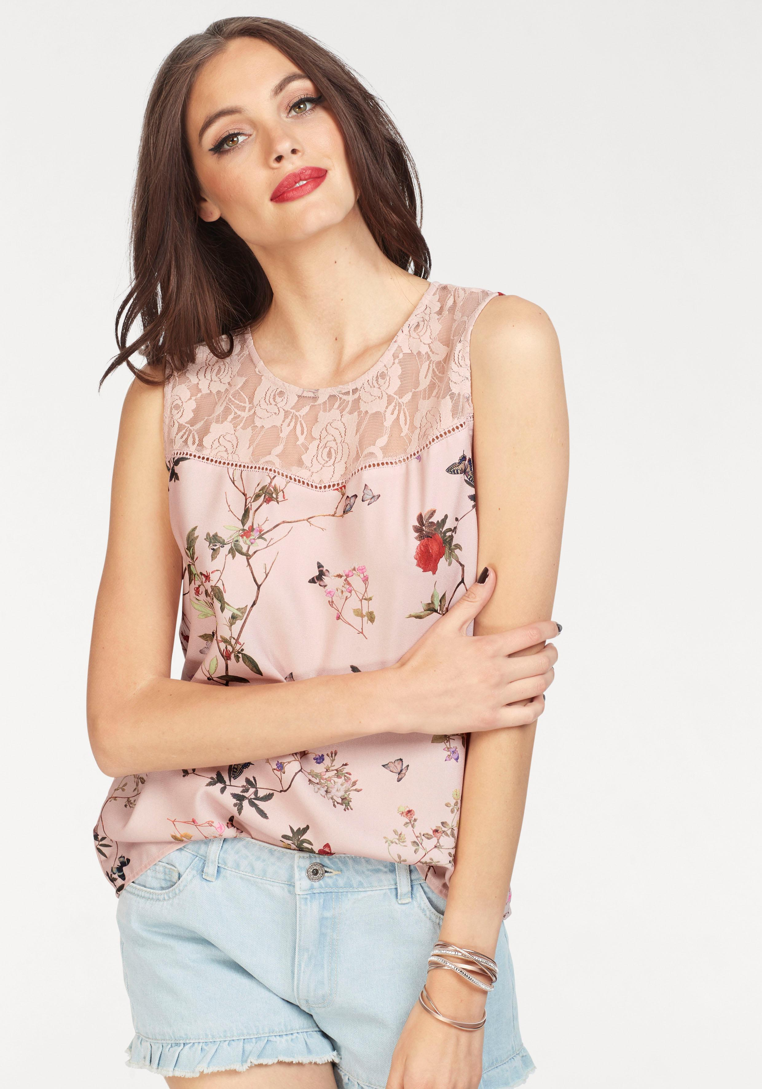 Only Druckbluse »BUTTERFLY«