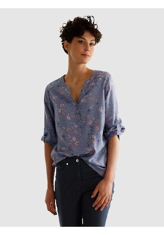 Dress In Schlupfbluse, mit schönem Blumenprint kaufen