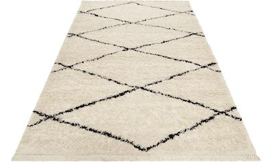 Wecon home Hochflor-Teppich »STUDIO one«, rechteckig, 35 mm Höhe, Wohnzimmer, Berber... kaufen