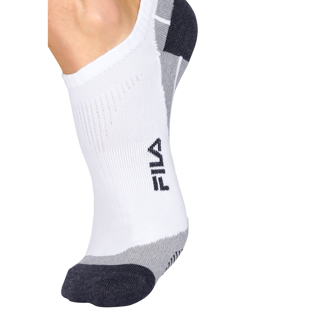 Fila Sneakersocken, (3 Paar), mit eingestricktem Schriftzug