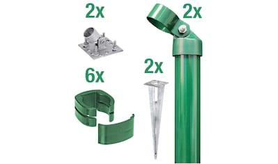 GAH Alberts Eckpfosten »Fix-Clip Pro®«, für Maschendrahthöhe 153 cm, zum Aufschrauben kaufen