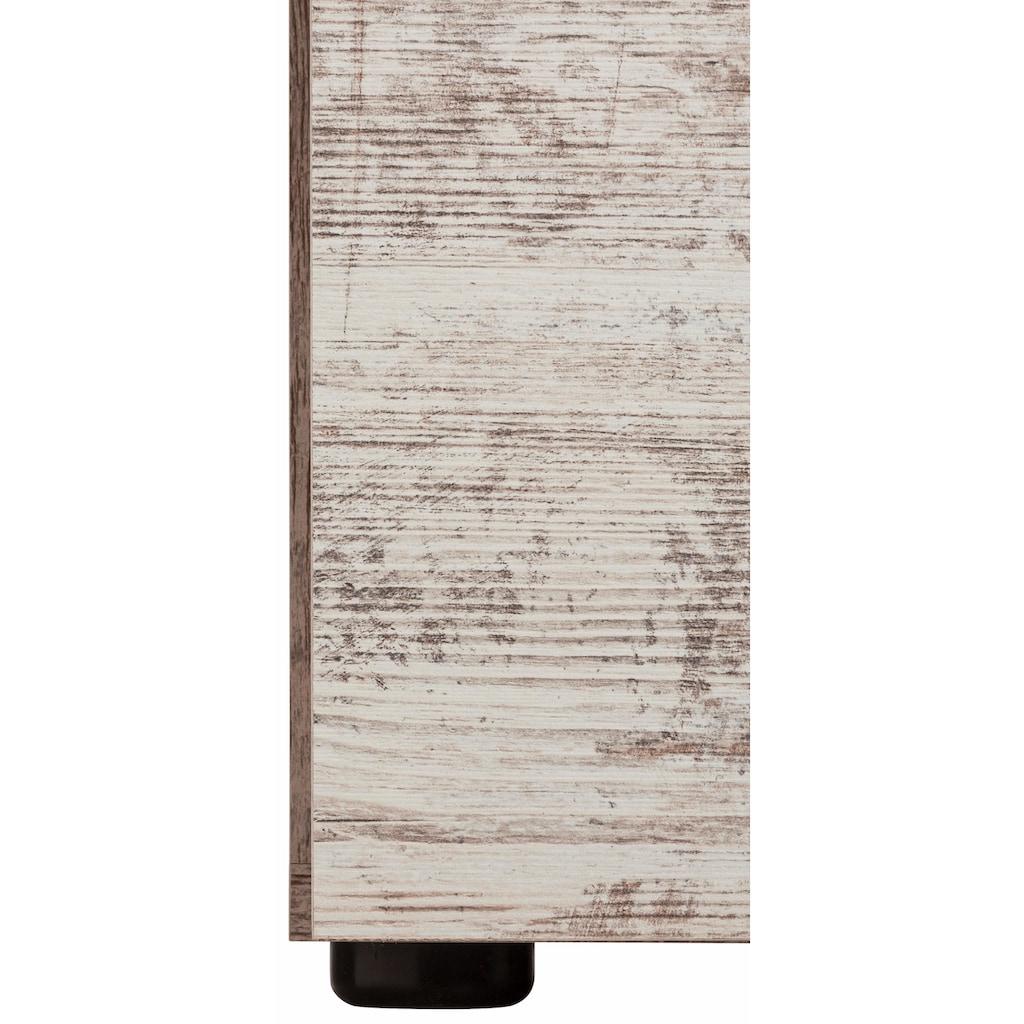 trendteam Unterschrank »CANCUN«, mit Rahmenoptik in Holztönen, Höhe 81 cm