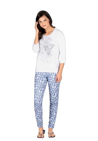 Trigema Schlafanzug, mit Schmetterling-Motiv kaufen