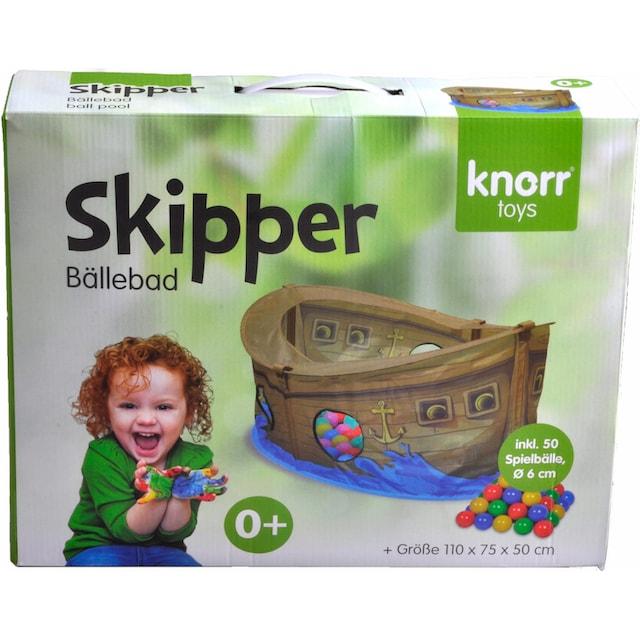"Knorrtoys® Bällebad ""Skipper"""