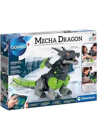 Clementoni® Experimentierkasten »Galileo - Mecha Dragon«, mit App-Funktion; Made in... kaufen