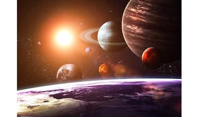 PAPERMOON Fototapete »Solar System«, Vlies, in verschiedenen Größen kaufen