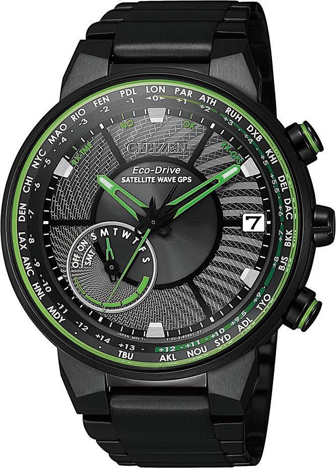 Citizen Solaruhr Satellite Wave F150 CC3075-80E | Uhren > Solaruhren | Citizen