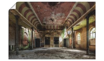 Artland Wandbild »Verlassener Ort  -  Ballsaal« kaufen