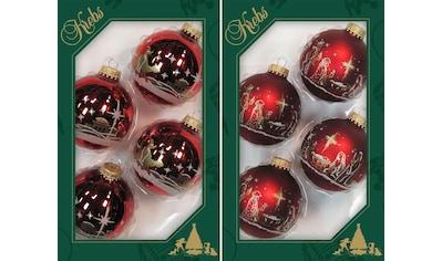 """Krebs Glas Lauscha Weihnachtsbaumkugel """"Heilige Nacht"""" kaufen"""