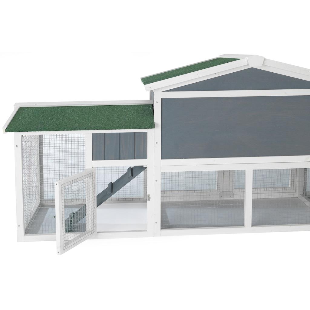 ABUKI Kleintierstall »Villa«, BxTxH: 205x46,5x86,5 cm