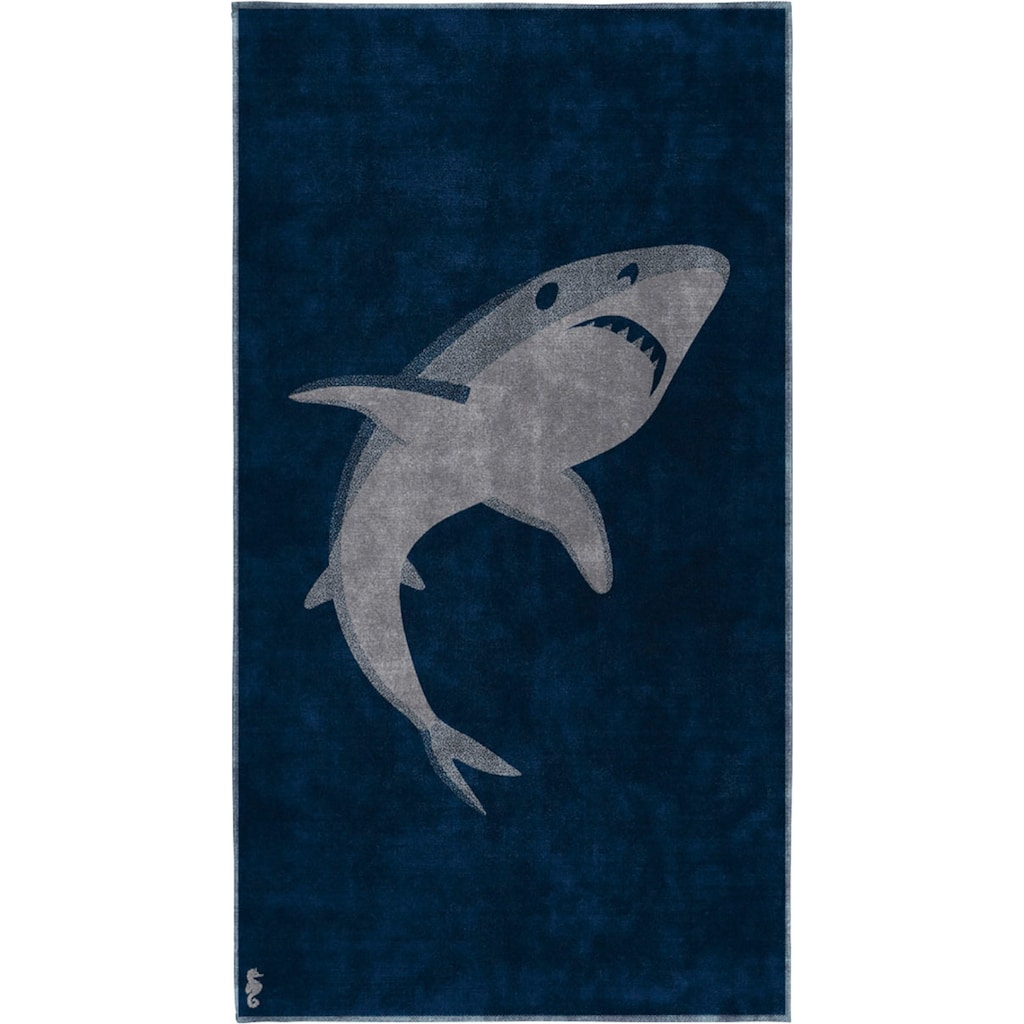 Seahorse Strandtuch »Sharky«, (1 St.)