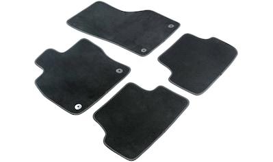 WALSER Passform-Fußmatten »Premium«, (4 St.), für Dacia Dokker Kombi Bj 02/2013 - Heute kaufen
