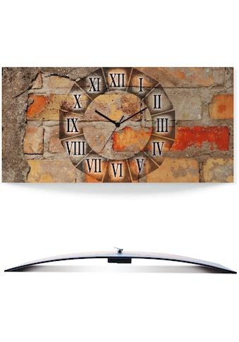 Artland Wanduhr »Antike Uhr«, 3D Optik gebogen kaufen