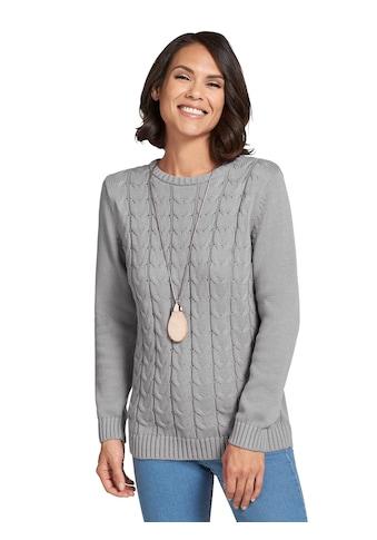 Casual Looks Pullover mit Zopfmuster vorne kaufen