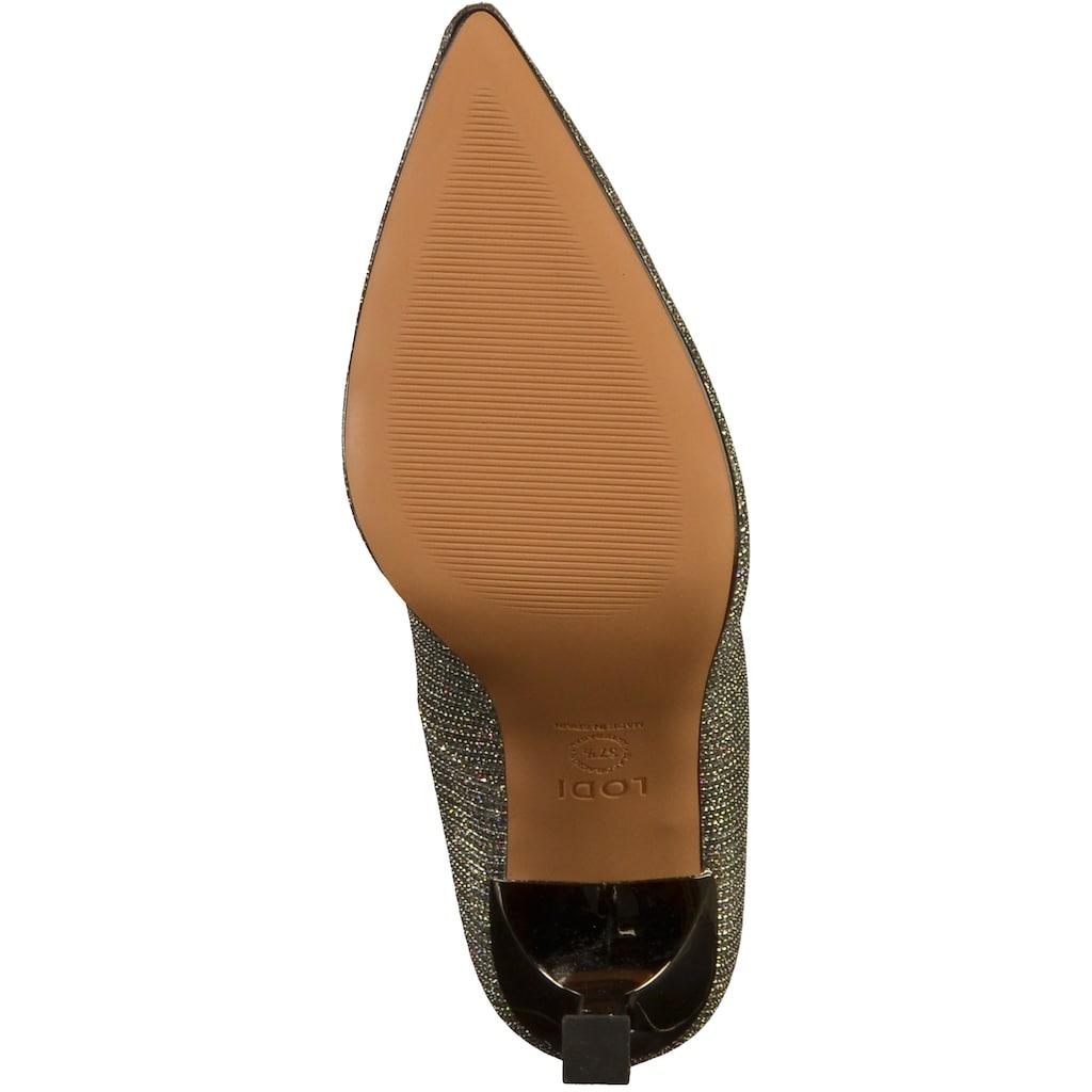 Lodi High-Heel-Pumps »Lederimitat/Textil«