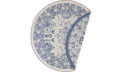 freundin Home Collection Teppich »Jole«, rund, 5 mm Höhe, Wendeteppich, In- und... kaufen