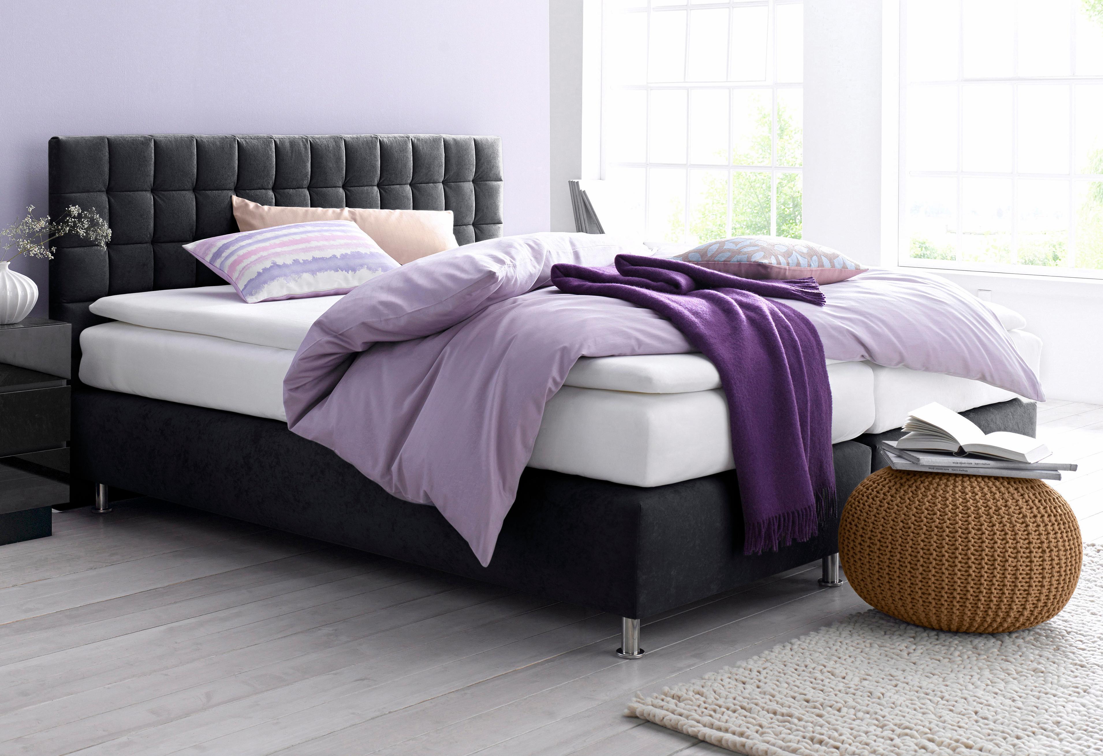 Westfalia Schlafkomfort Boxspringbett   Schlafzimmer > Betten > Boxspringbetten   Strukturstoff - Polyester   WESTFALIA SCHLAFKOMFORT