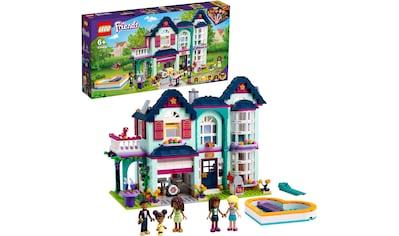 LEGO® Konstruktionsspielsteine »Andreas Haus (41449), LEGO® Friends«, (802 St.), Made in Europe kaufen