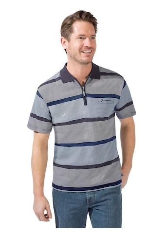 Catamaran Kurzarm - Poloshirt im hochwertig garngefärbten Streifenmuster kaufen