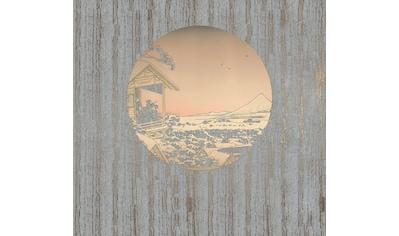 Komar Fototapete »Land of Gold«, asiatisch-schimmernd-Silber-Optik kaufen