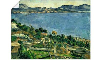 Artland Wandbild »Landschaft im Golf von Marseille« kaufen