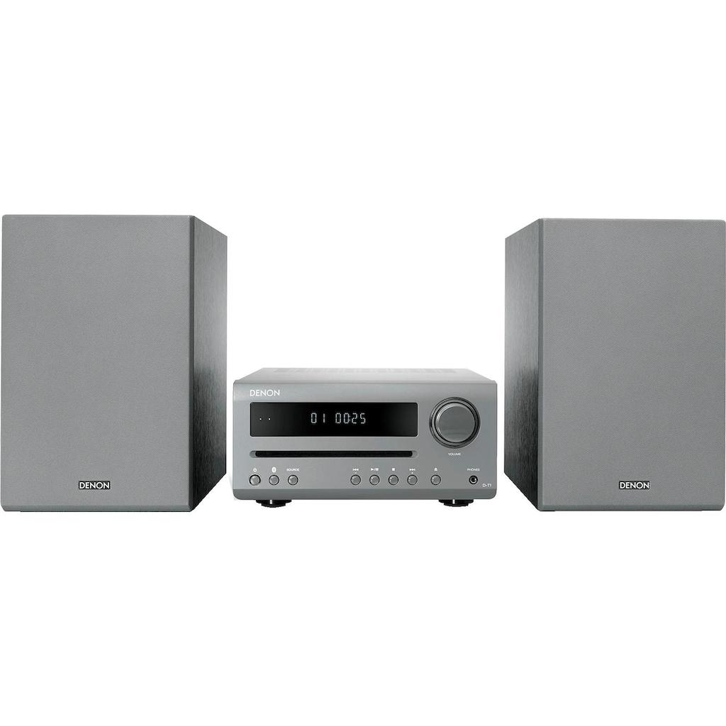 Denon Kompaktanlage »D-T1«, (Bluetooth FM-Tuner mit RDS 30 W)